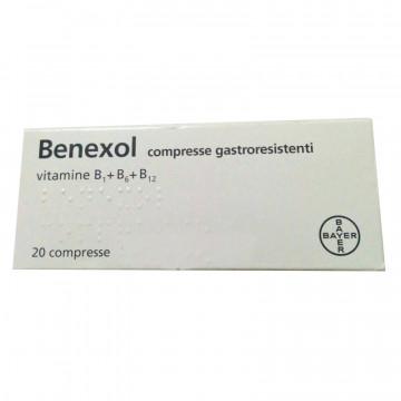 BENEXOL FL 20 COMPRESSE GASTRORESISTENTI VITAMINE DEL GRUPPO B