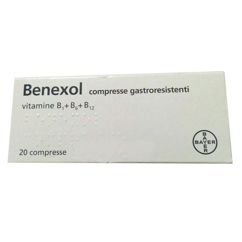 BENEXOL FL 20 COMPRESSE GASTRORESISTENTI
