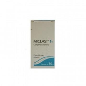 MICLAST EMULSIONE DERMATOLOGICA FL 30 GRAMMI 1%