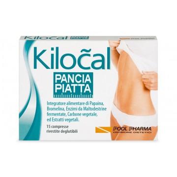 KILOCAL PANCIA PIATTA 15 COMPRESSE INTEGRATORE DIMAGRANTE