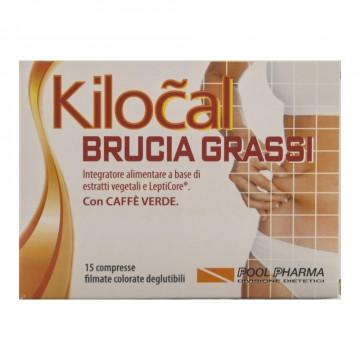 KILOCAL BRUCIA GRASSI 15 COMPRESSE INTEGRATORE DIMAGRANTE