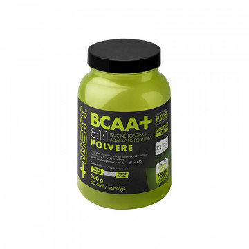 BCAA+ 8:1:1 STRONG APPLE 300 GRAMMI INTEGRATORE PROTEICO IN POLVERE