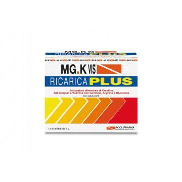 MG.K VIS RICARICA PLUS 14 BUSTINE INTEGRATORE SALI MINERALI E VITAMINE