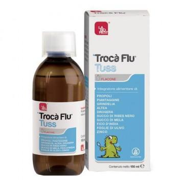 TROCÀ FLU TUSS INTEGRATORE ALIMENTARE VIE RESPIRATORIE 150 ML