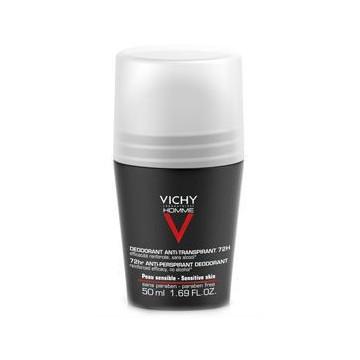 VICHY HOMME DEODORANTE ANTI-TRASPIRANTE 72H ROLL-ON 50 ML