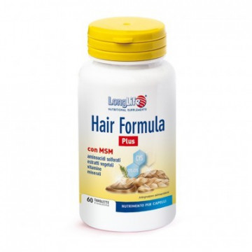 LONGLIFE HAIR FORMULA PLUS - INTEGRATORE PER CAPELLI 60 TAVOLETTE