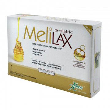 ABOCA MELILAX PEDIATRIC 6 MICROCLISMI BAMBINI E LATTANTI