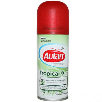 AUTAN TROPICAL SPRAY SECCO REPELLENTE ANTIZANZARE 100 ML