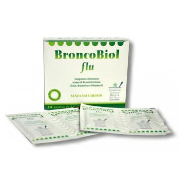BRONCOBIOL FLU 14 BUSTE INTEGRATORE ANTIOSSIDANTE