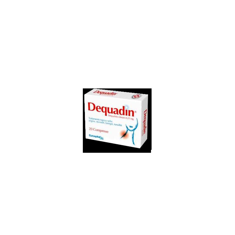 DEQUADIN 20CPR 0,25MG