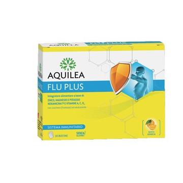 AQUILEA FLU PLUS 10 BUSTINE - ESTRATTO DI PROPOLI E VITAMINE