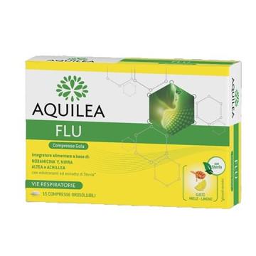AQUILEA FLU 15 COMPRESSE OROSOLUBILI - BENESSERE GOLA