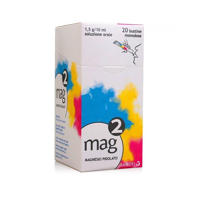 MAG 2 OSSOLUZ20BUST1,5G/10ML