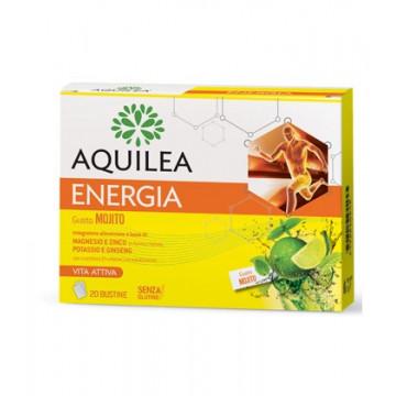 AQUILEA ENERGIA MOJITO 20 BUSTINE -  INTEGRATORE ENERGIZZANTE