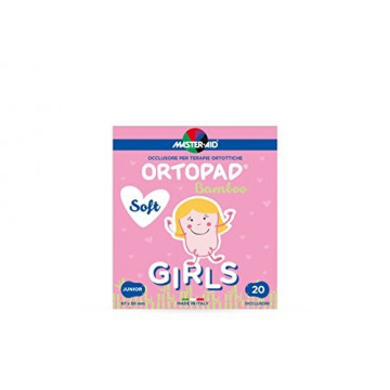 ORTOPAD SOFT GIRL JUNIOR 20 OCCLUSORI BAMBOO MASTER AID