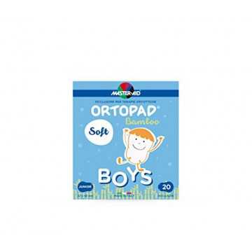 ORTOPAD SOFT BOYS JUNIOR 20 OCCLUSORI BAMBOO MASTER-AID