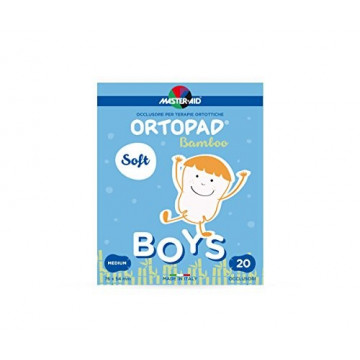 ORTOPAD SOFT BOYS CEROTTO ORTOTTICO MEDIUM 20 PEZZI