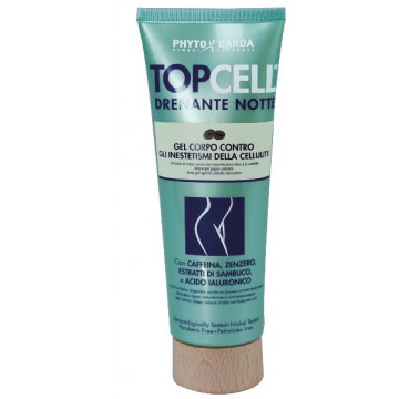 TOPCELL DRENANTE NOTTE GEL CONTRO INESTETISMI CELLULITE 125 ML