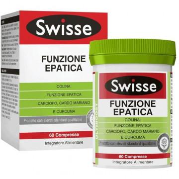SWISSE FUNZIONE EPATICA INTEGRATORE FEGATO 60 COMPRESSE
