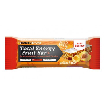 NAMED SPORT TOTAL ENERGY FRUIT BAR  YELLOW FRUITS BARRETTA ENERGETICA 35 GRAMMI
