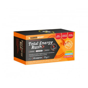 NAMED SPORT TOTAL ENERGY RUSH INTEGRATORE ENERGIZZANTE 60 COMPRESSE