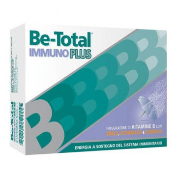 BE-TOTAL IMMUNO PLUS INTEGRATORE DIFESE IMMUNITARIE 14 BUSTINE