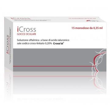ICROSS GOCCE OCULARI PROTEZIONE CORNEALE 15 FLACONCINI MONODOSE