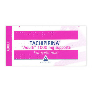 TACHIPIRINA ADULTI 10 SUPPOSTE 1000 MG