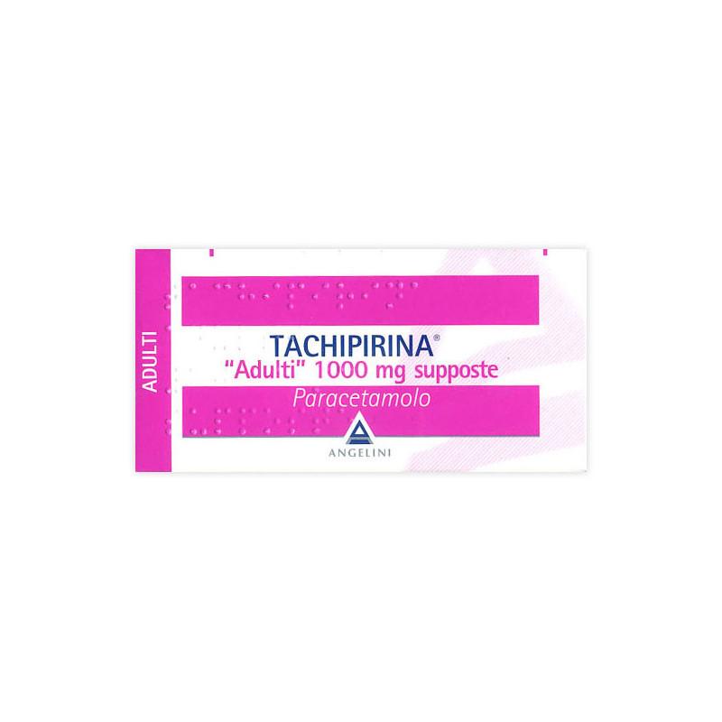 TACHIPIRINA AD 10SUPP 1000MG
