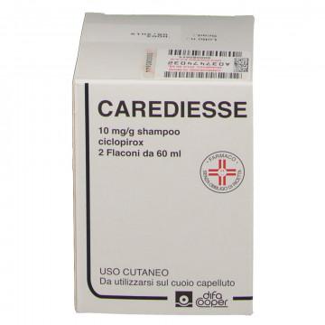 CAREDIESSE SHAMPOO 10 MG/G DERMATITE SEBORROICA 2 FLACONI 60 ML