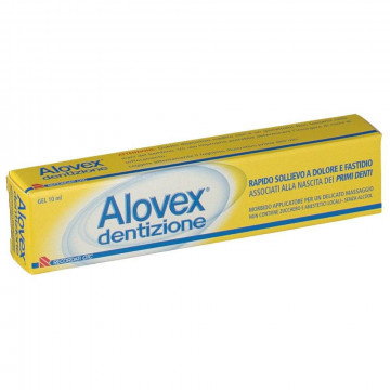 ALOVEX DENTIZIONE GEL DOLORE DEI PRIMI DENTINI 10 ML