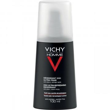 VICHY HOMME DEODORANTE VAPO ULTRA FRESCO 100 ML