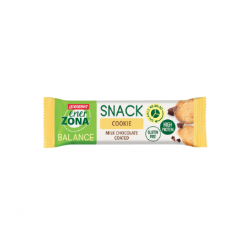 ENERZONA SNACK COOKIE MILK CHOCOLATE BARRETTA PROTEICA 33 GRAMMI