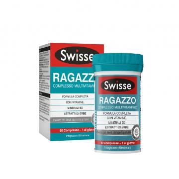SWISSE RAGAZZO INTEGRATORE MULTIVITAMINICO 60 COMPRESSE