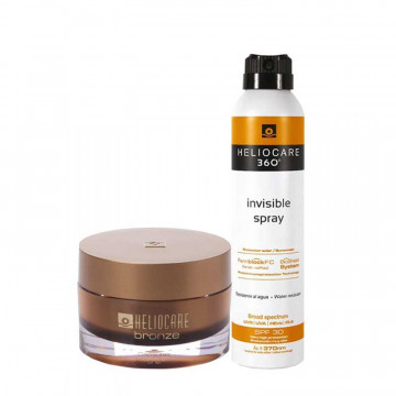 PROMO HELIOCARE - BIPACK HELIOCARE BRONZE + HELIOCARE INVISIBLE SPRAY SPF 30 200 ml