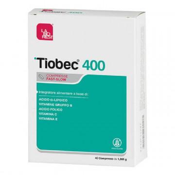 TIOBEC 400 INTEGRATORE ANTIOSSIDANTE 40 COMPRESSE FAST-SLOW
