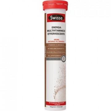 SWISSE ENERGIA INTEGRATORE MULTIVITAMINICO EFFERVESCENTE 20 COMPRESSE