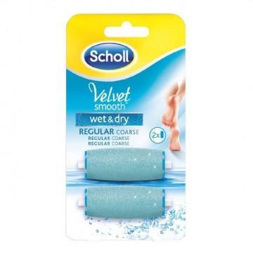SCHOOL VELVET SMOOTH WET & DRY ROLL PIEDI 2 RICARICHE