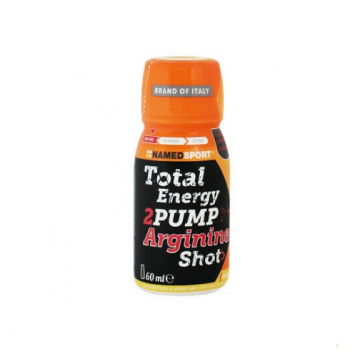 NAMED SPORT TOTAL ENERGY 2 PUMP ARGININE SHOT MANGO E PESCA 60 ML