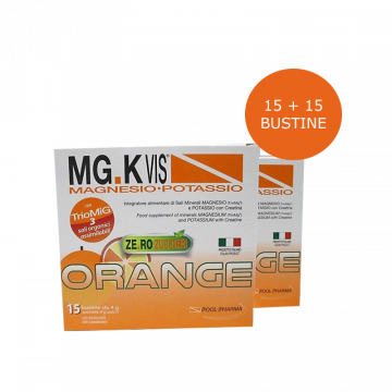 MGK VIS ORANGE BIPACK 15+15 BUSTINE