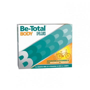 BE TOTAL BODY PLUS INTEGRATORE MAGNESIO E POTASSIO 20 BUSTINE