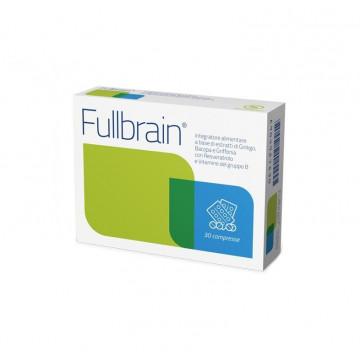 FULLBRAIN INTEGRATORE MICROCIRCOLO E MEMORIA 30 COMPRESSE