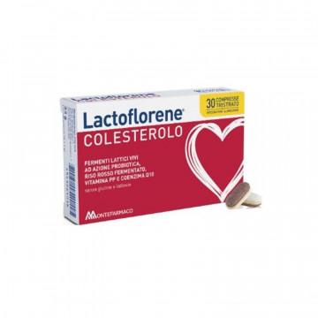 LACTOFLORENE COLESTEROLO INTEGRATORE FERMENTI LATTICI VIVI 30 COMPRESSE